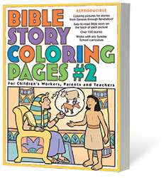 bible story coloring pages 2