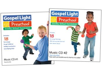 PreK / Kindergarten Ages 4-5 Sunday School - Gospel Light
